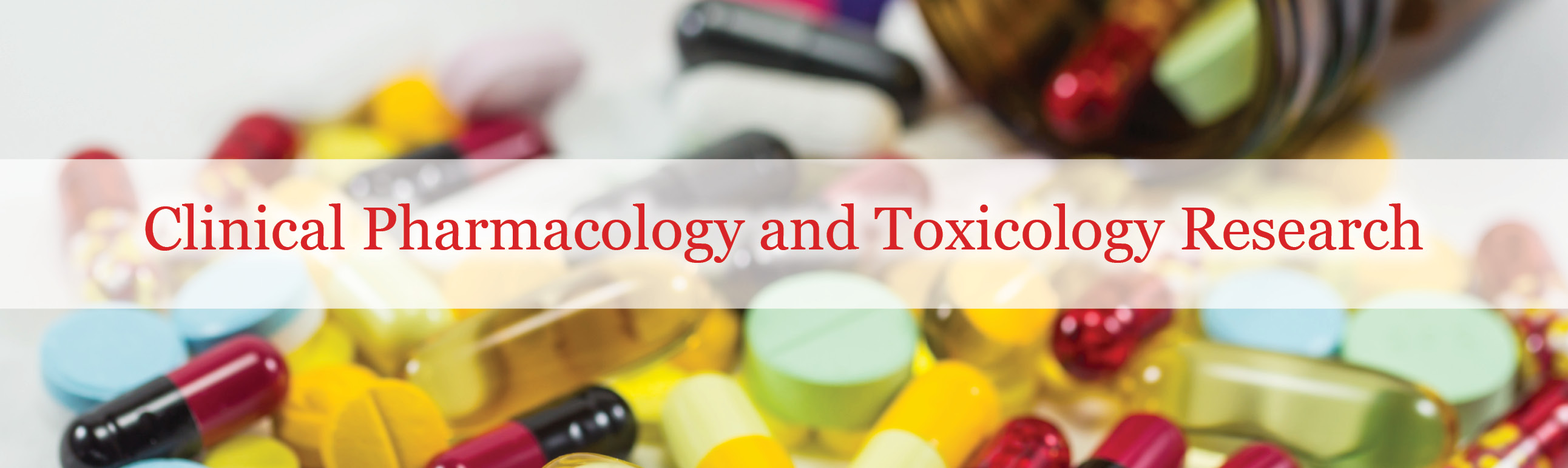 Clinical Pharmacology and Toxicology Research