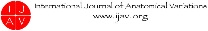 International Journal of Anatomical Variations