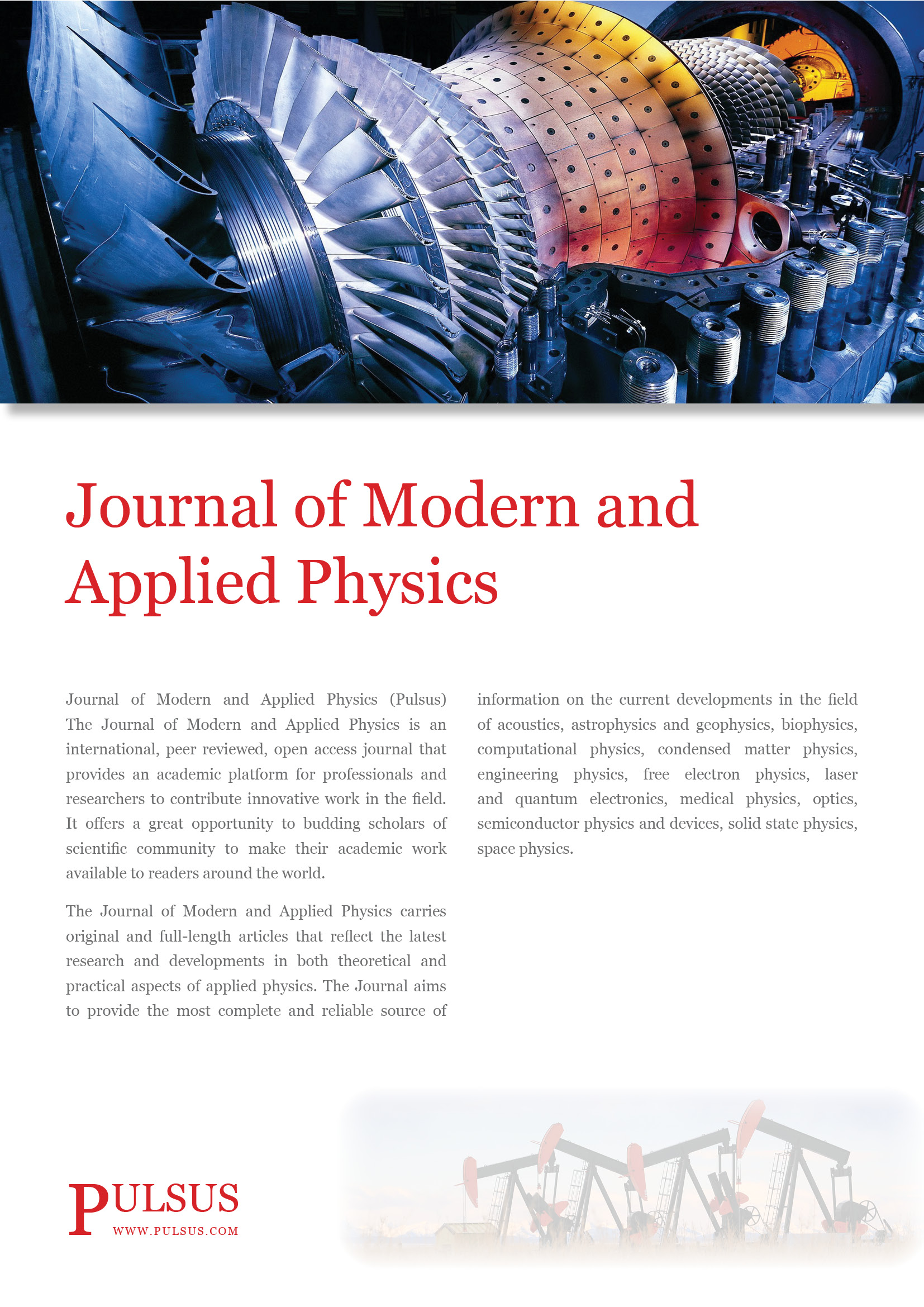 Journal of Modern and Applied Physics