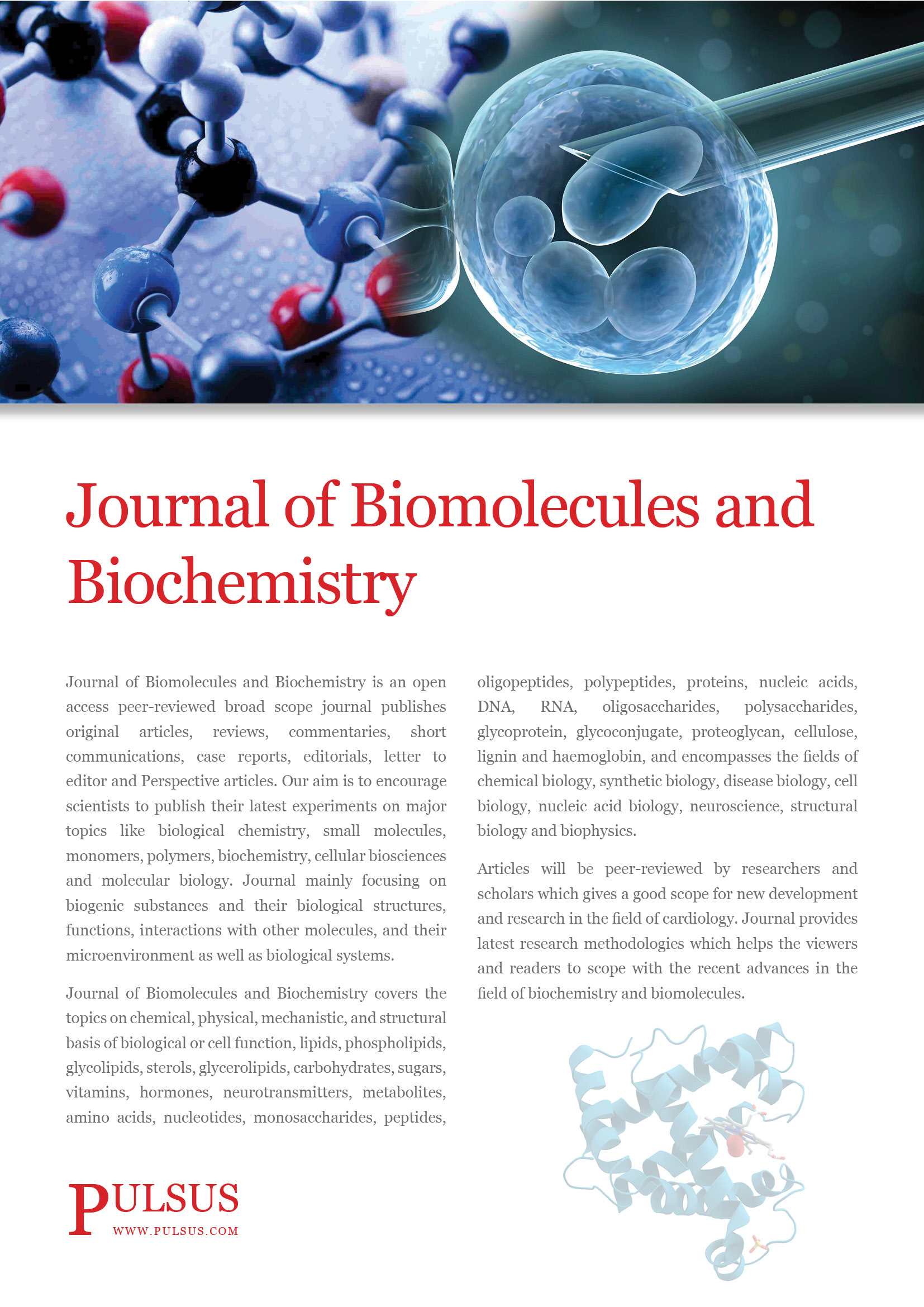 Analysis and Biochemistry