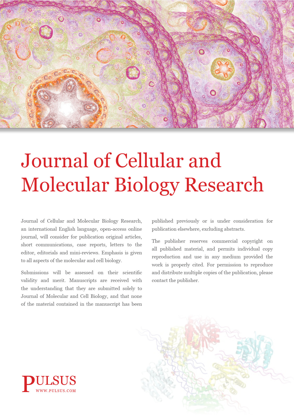 Journal of Cellular and Molecular Biology Research