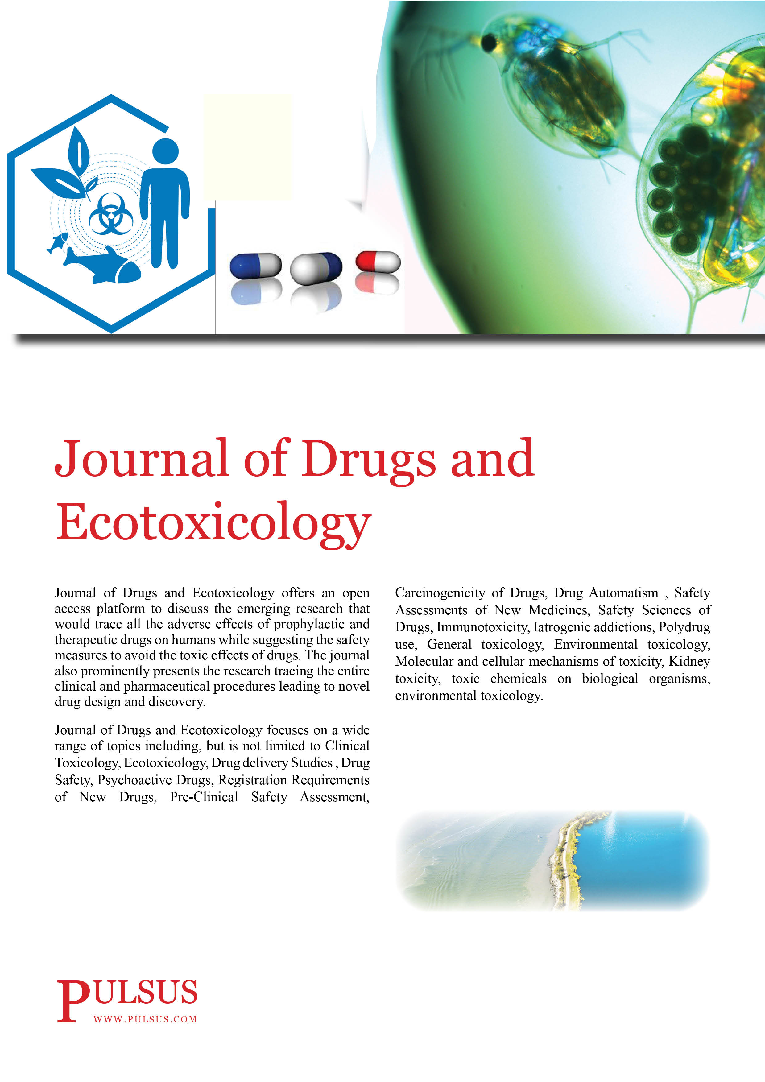 Journal of Drugs and Ecotoxicology