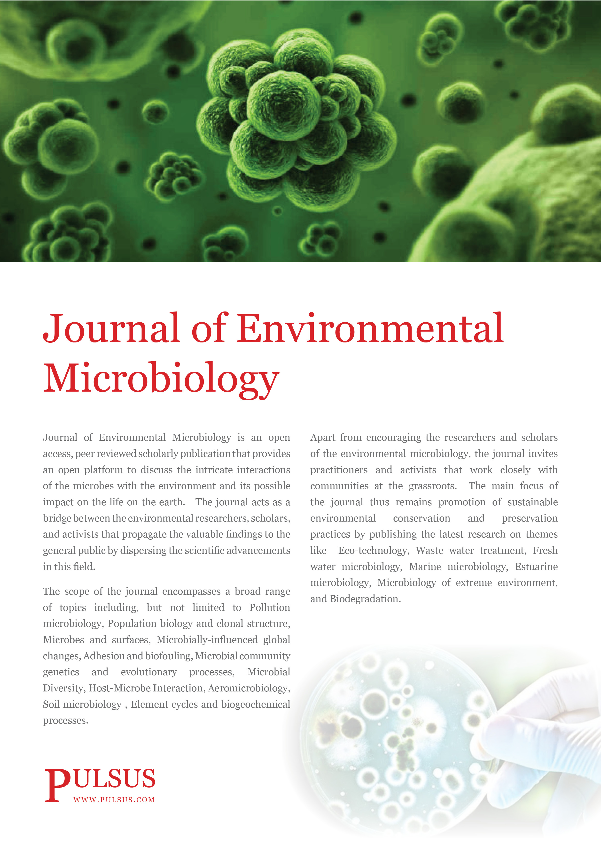 Journal of Environmental Microbiology