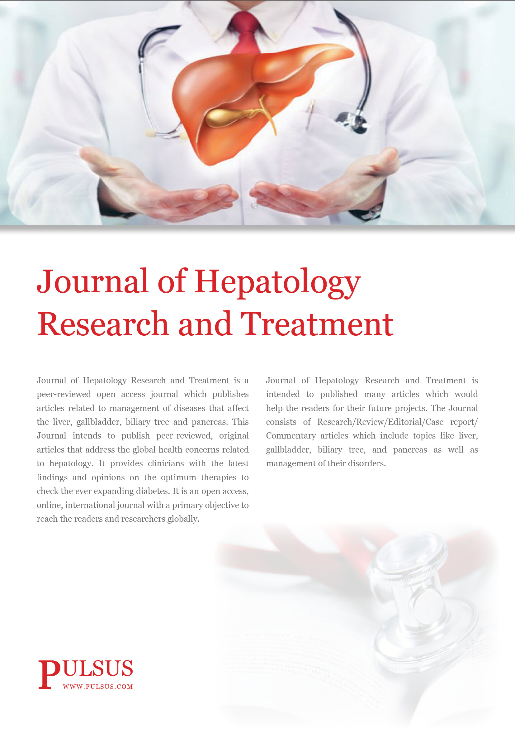 Journal of Hepatology Research and Treatment