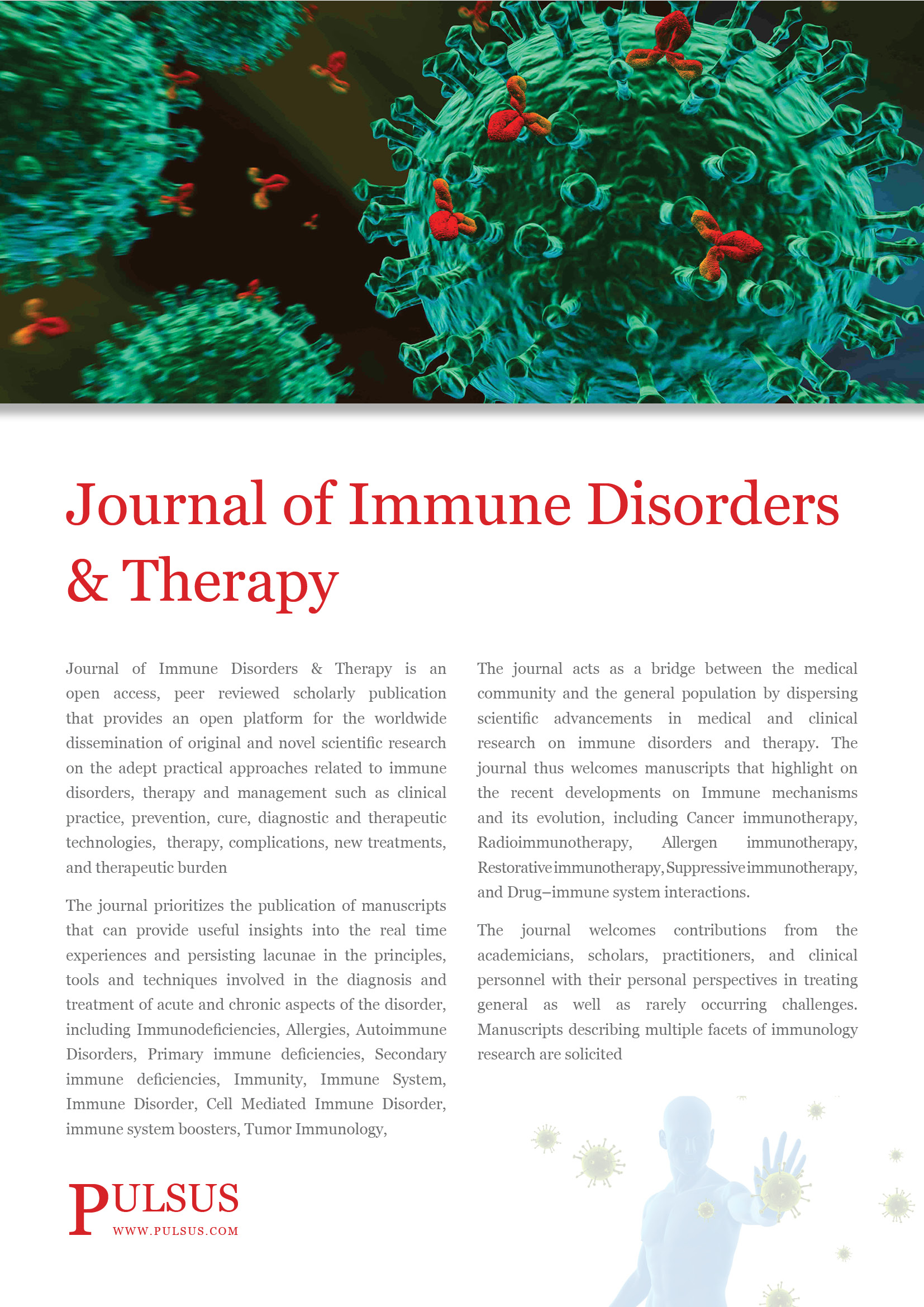 Journal of Immune Disorders & Therapy
