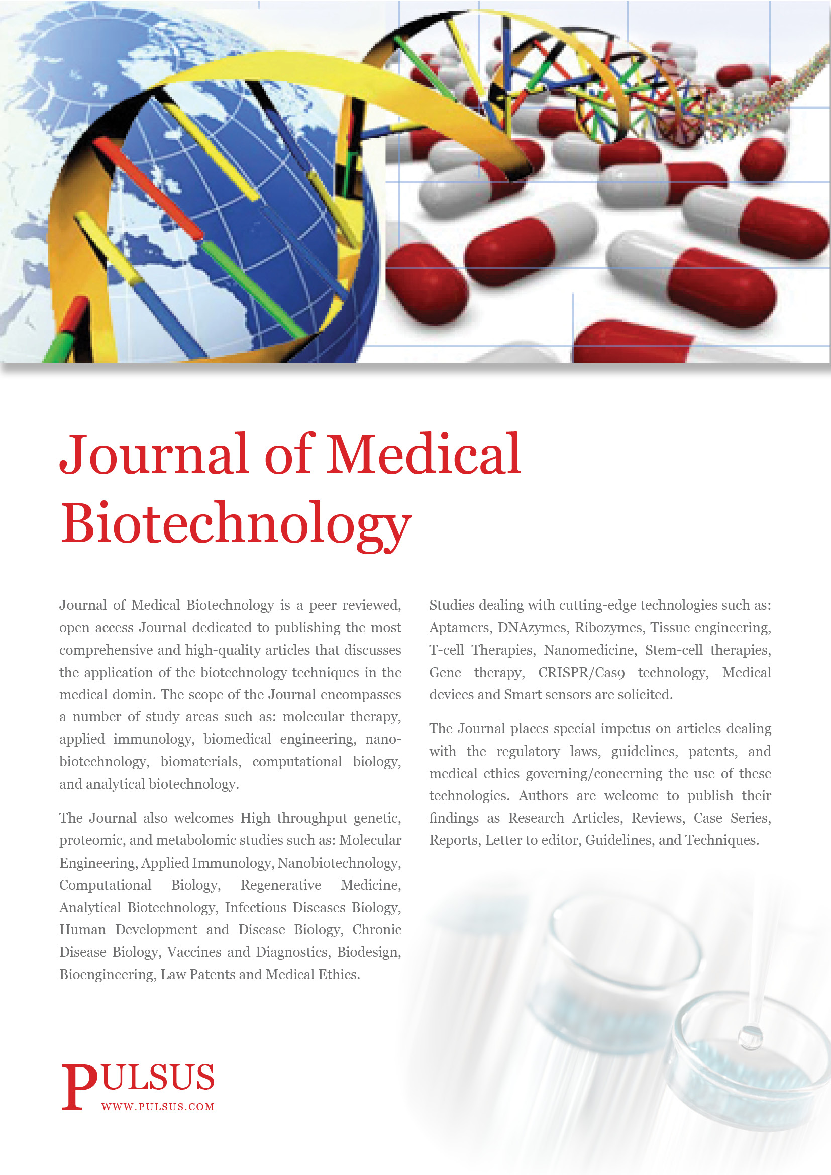 Journal of Medical Biotechnology