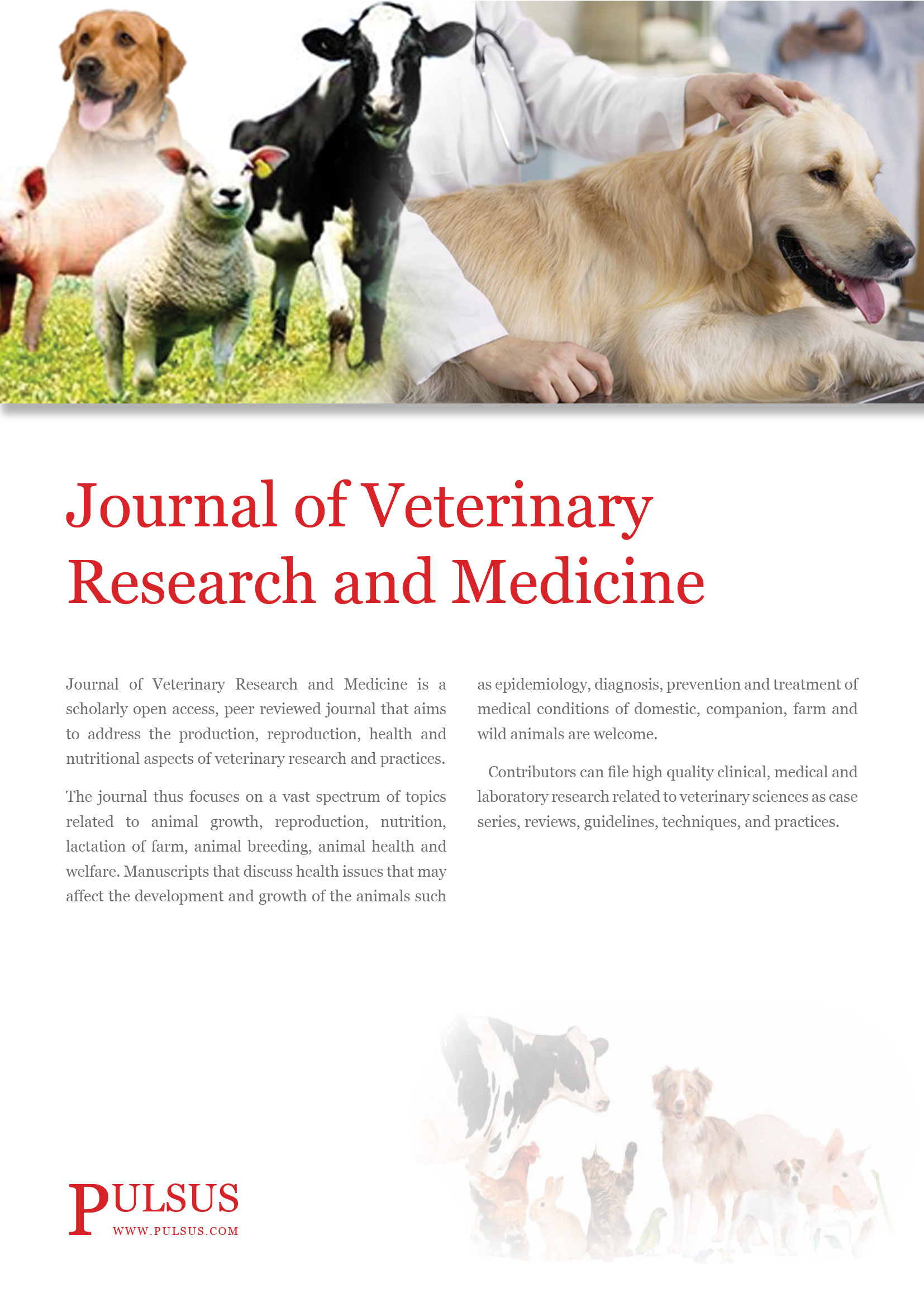 Journal of Veterinary Research and Medicine